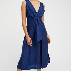 Free People Mumbai Silk Dress XS
